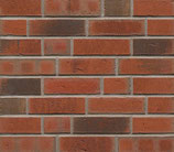 Light Red Multi Waterstruck - Standard Brick Slips