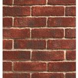 Ultra Thin Brick Slip Tiles - Durham Claret - Brick Slip Corner Pistols