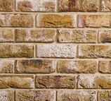 London Weathered Yellow - Standard Brick Slips