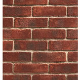 Ultra Thin Brick Slip Tiles - Durham Claret