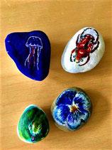 Set van stenen: natuur.