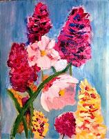 Bloemen kleurexplosie