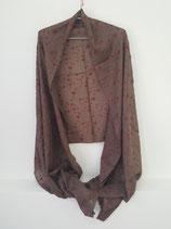 Fine Cashmere scarf jal 75x200cm  FC-223