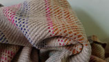 "Pashmina luxury blanket ""Hand-crafted"" KT-425 100x200cm"