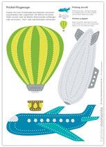 Bastelbogen Flugzeuge
