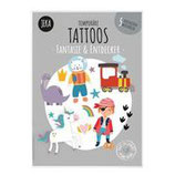 Kindertattoo-Set Fantasie & Entdecker