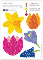 Bastelbogen Frühblüher