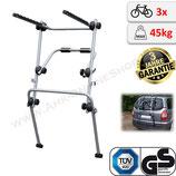 MAIN (FALCON) von Menabo - Fahrradträger Heckträger abschließbar für 3 Räder für die Heckklappe