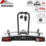 MERAK type S von Menabo – Fahrradträger für Anhängerkupplung