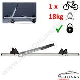 ACOR Dach-Fahrradträger von AHAKA - mit Alu-Schienen , abschließbar und einstellbar