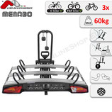 ALCOR  3 von Menabo – Fahrradträger für Anhängerkupplung für drei Räder