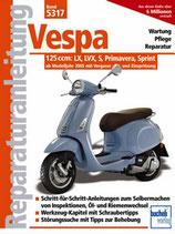 Vespa 125 ccm - Modelle LX, LVX, S, Primavera, Sprint
