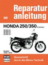 Honda 250/350 (2 Zylinder) Baujahr 1970-1974 - CB 250 K2/ CB 250 K3/ CB 250 K4/ CB 350 K4