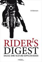 Rider's Digest - Dialoge ohne Helm und doppelten Boden