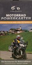 Motorrad Powerkarten - Süddeutschland und Österreich