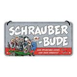 """Hängeschild """"Schrauberbude"""""""