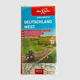 Tourenkarten-Set Deutschland West