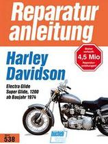 Harley- Davidson Electra Glide / Super Glide 1200 - Ab Baujahr 1974