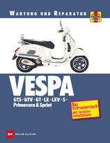 Vespa GTS, GTV, GT, LX, LXV, S, Primavera & Sprint