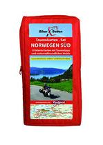 Tourenkarten-Set Norwegen Süd