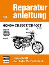 250 T / CB 400 T - T1 - T2 -A ab 1977 // Reprint der 9. Auflage 1979