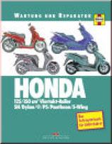 HONDA 125/150 cm3 Viertakt-Roller