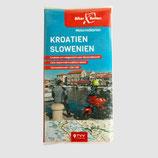 Tourenkarten-Set Kroatien Slowenien