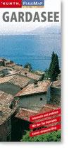 Gardasee / Oberitalienische Seen 1:90 000 / 1: 300 000