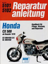 Honda CX 500/650 E/C, GL 500/650