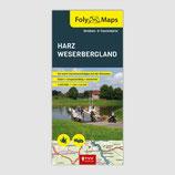 FolyMaps Straßen- und Tourenkarten  Harz — Weserbergland