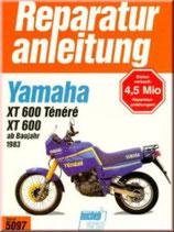 Yamaha XT 600/ 600 Ténéré, 46/ 27 PS