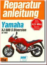 Yamaha XJ 600 S, Diversion