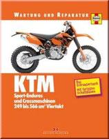 KTM Sport-Enduros und Crossmaschinen 249 bis 566 cm3 Viertakt