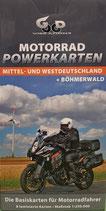 Motorrad Powerkarten - Mittel- und Westdeutschland