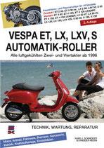 Vespa ET, LX, LXV, S Automatik-Roller