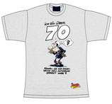 "T-Shirt ""Bin über 70"""