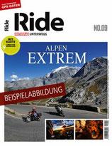 RIDE - Motorrad unterwegs  No 9 - Alpen extrem