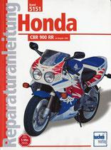 Honda CBR 900 RR - ab Baujahr 1992 / Reprint der 4. Auflage 2000