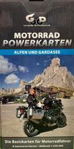 Motorrad Powerkarten - Alpen und Gardasee