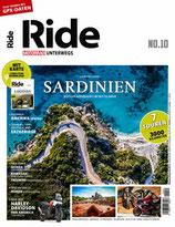 RIDE - Motorrad unterwegs, No 10 - Sardinien