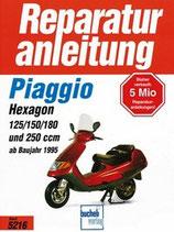 Piaggio Hexagon 125 7 150 / 180 und 250ccm
