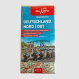 Tourenkarten-Set Deutschland Nord-Ost