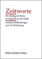 Heinrich Assel (Hrsg.): Zeitworte