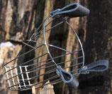 Kopfmaulkorb mit Lederlaschen