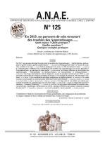 ANAE N° 125 - Troubles des Apprentissages - Parcours de soins structuré