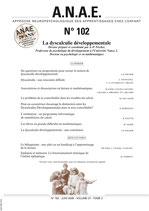 ANAE N° 102 - La dyscalculie développementale