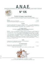 ANAE N° 135 - Troubles du langage et Apprentissages