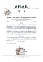 ANAE N° 117 - L'animal dans le soin entre théories et pratiques