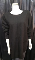Pullover schwarz / lang