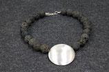 Lava mit Silberelement